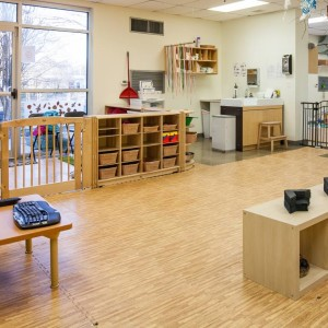 Infant Room Reception & Classroom