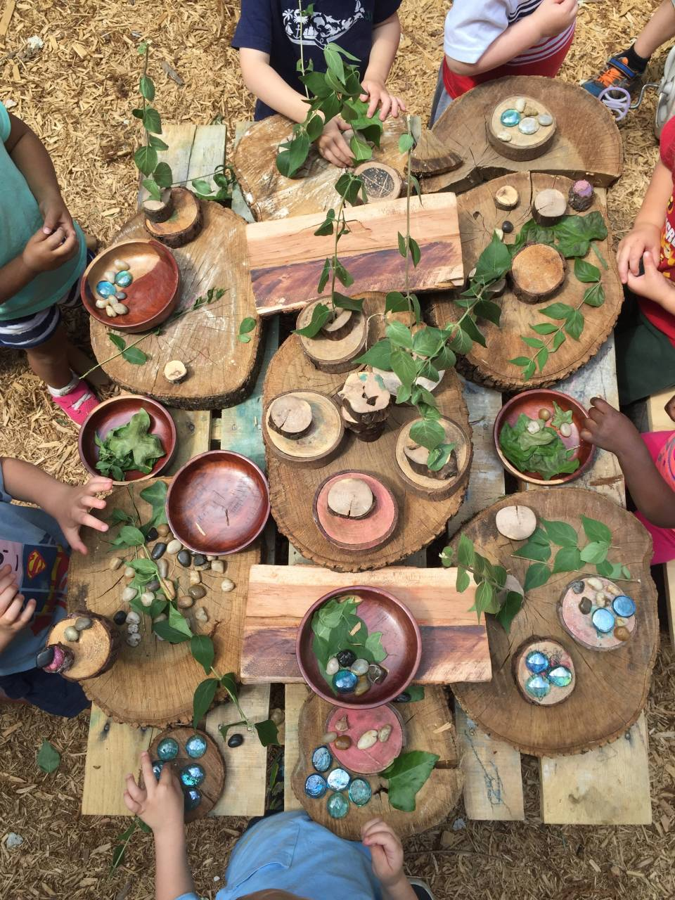 Provocations On The Playground The Willow School